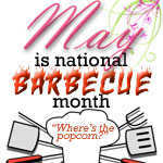 Free Popcorn Giveaway Celebrating National Barbecue Month - May 2012