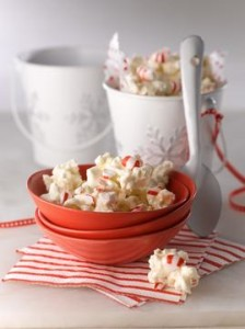 Peppermint Popcorn Bark